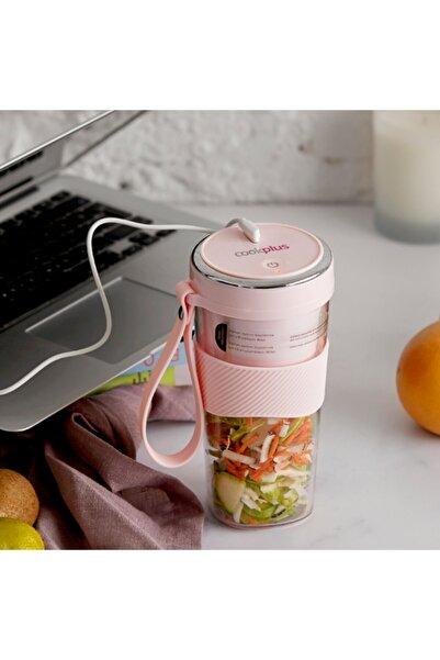 Cookplus Pink Taşınabilir Şarjlı Blender