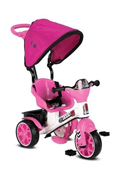 BabyHope 121 Bobo Ebeveyn Kontrollü Üç Tekerlekli Çocuk Bisikleti