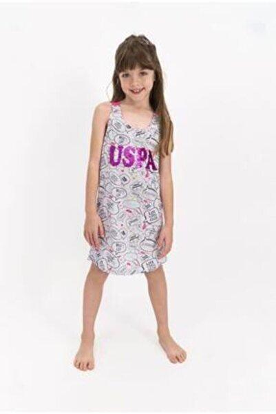 U.S. Polo Assn. U.s. Polo Assn Lisanslı Karmelanj Kız Çocuk Elbise