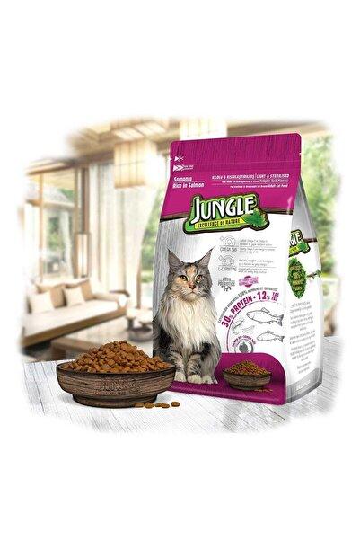 Jungle Somonlu Kısırlaştırılmış Kedi Maması 1,5 Kg