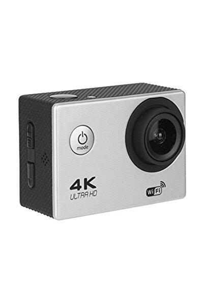 Gomax 4k Wifi Sports Ultra Hd Su Geçirmez Aksiyon Kamerası Gümüş