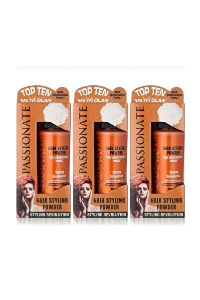 Passionate Saç Şekillendirici Pudra Güçlü Mat 20 G 3 Adet