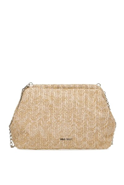 Nine West Jessıe 1fx Naturel Kadın Clutch