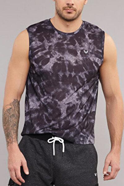 Siyah Pamuk/Poly Erkek Atlet ES-4011