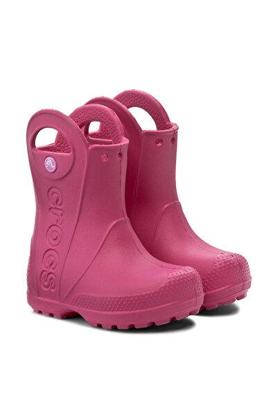 Crocs Kids RAIN BOOT KIDS Koyu Pembe Unisex Çocuk Yağmur Çizmesi 100528694