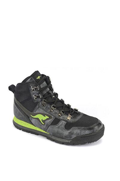 Kangaroos Siyah Erkek Günlük Spor Ayakkabı - NAJU - KNK4ALSE026-580