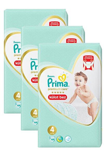 Prima Premium Care Külot Bebek Bezi 4 Beden 44 Adet x 3 Paket