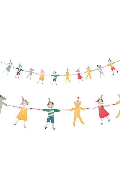 Partifabrik Neşeli Çocuklar Banner Süs