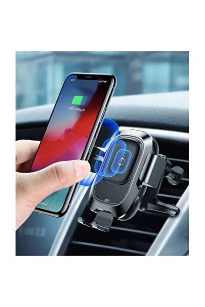 Baseus Wireless Kablosuz Şarj Kablosuz Araç Şarjı Araç Içi Telefon Tutucu Iphone Samsung Huawei Uyum