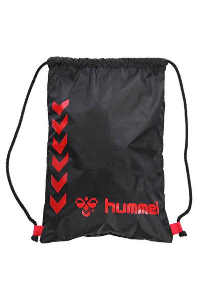 HUMMEL MARS BACKPACK Siyah Kırmızı Unisex Torba Çanta 100183202