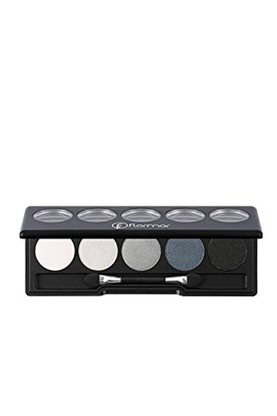Flormar Color Palette Eyeshadow Gri Tonları Göz Farı 005 8690604051588