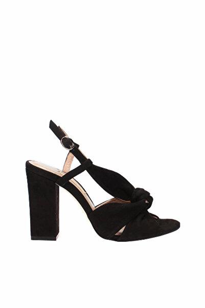 İnci Hakiki Deri Siyah Kadın Sandalet 120130006926