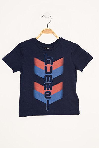 HUMMEL KIDS Mavi Erkek Çocuk Royce Kısa Kollu Tişört