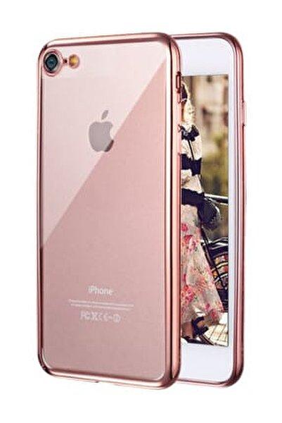 Apple iPhone 7 Kılıf Flexi Delux Rose Gold