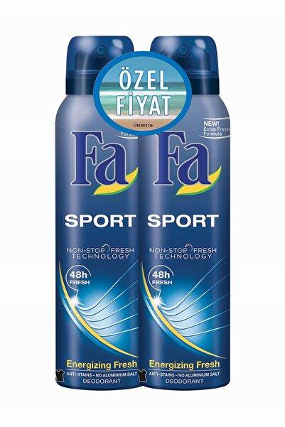 Fa Deodorant Sprey 2'Li Sport 150 ml   + 150 ml