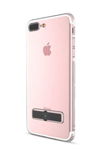 Totu Design TotuDesign Gizli Stand iPhone 7 Plus Siyah Kılıf