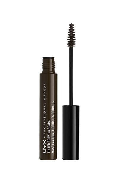 NYX Professional Makeup Kaş Maskarası - Tinted Brow Mascara Black 800897832834