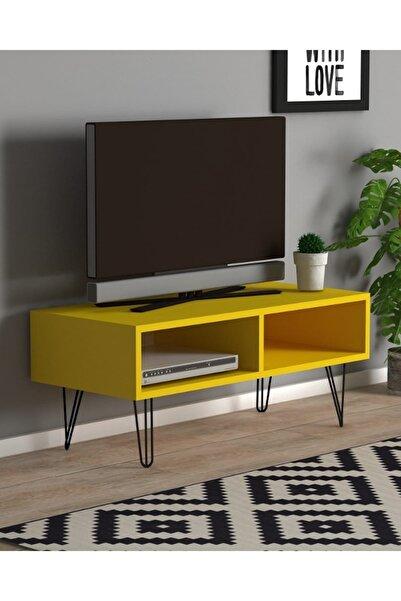 Monte Sehpa Fiona Tv Sehpası Sarı