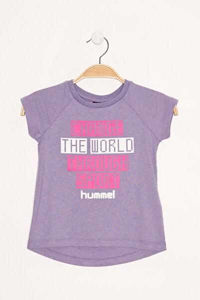 HUMMEL KIDS Mor Kız Çocuk Alexa Kısa Kollu Tişört