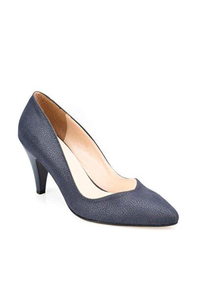 Polaris 91.307279dz Lacivert Kadın Topuklu Ayakkabı 100376056