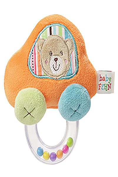 Baby Fehn Bebek Çıngıraklı Kavrayıcı Araba Bebek Oyuncak Turkuaz