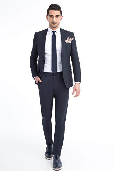Kiğılı Erkek Lacivert Takım Elbise - 53667