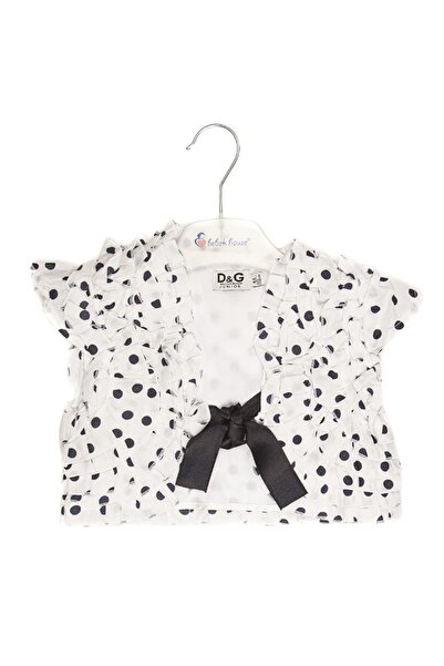 Bebek House Kız Yazlık Kısa Kol Bolero Ceket