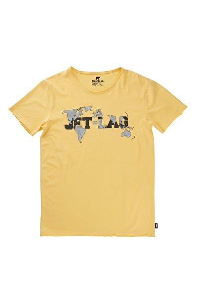 Bad Bear Sarı Erkek Tişört JETLAG TEE LEMON