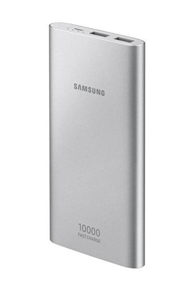 Samsung 10.000 mAh Micro USB Gümüş Powerbank (Samsung Türkiye Garantili) EB-P1100B