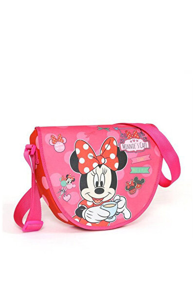 MINNIE Mınnıe Mouse Postacı Çanta Kırmızı - Pembe /
