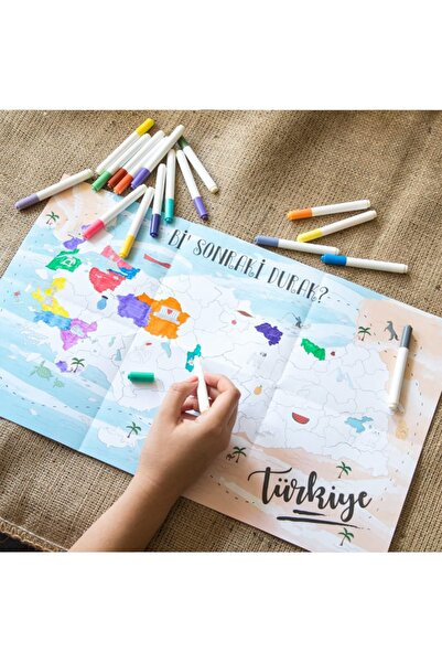 Bikutumutluluk Boyanabilir Türkiye Haritası Bi Sonraki Durak
