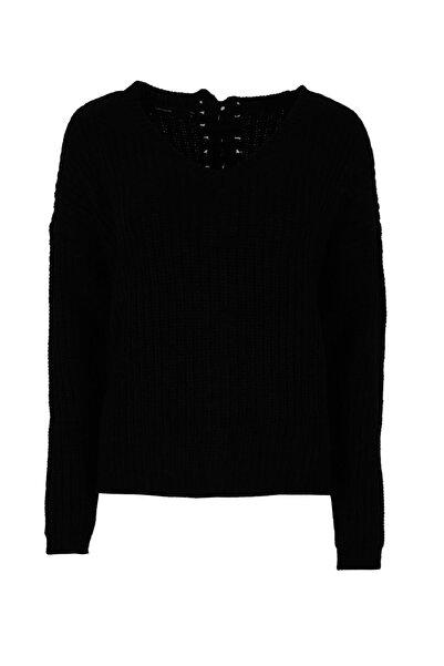 Vero Moda Kadın Siyah Kazak 10182101
