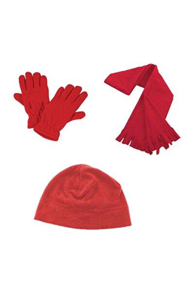 MUGGO Kırmızı Erkek Eldiven DPRMPLRST003
