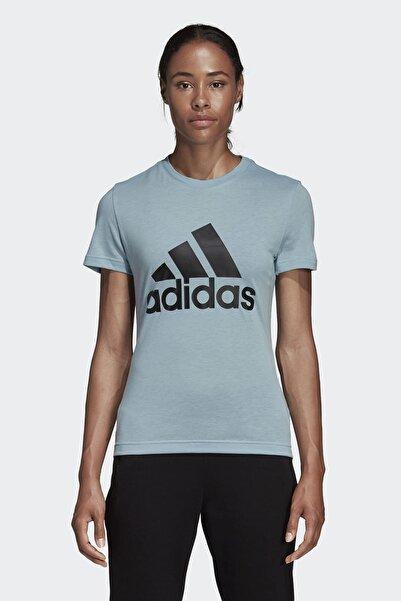 adidas W MH BOS Gri Kadın T-Shirt 100575493