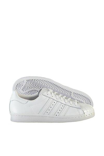 adidas SUPERSTAR 80S METAL Beyaz Kadın Sneaker Ayakkabı 100407209