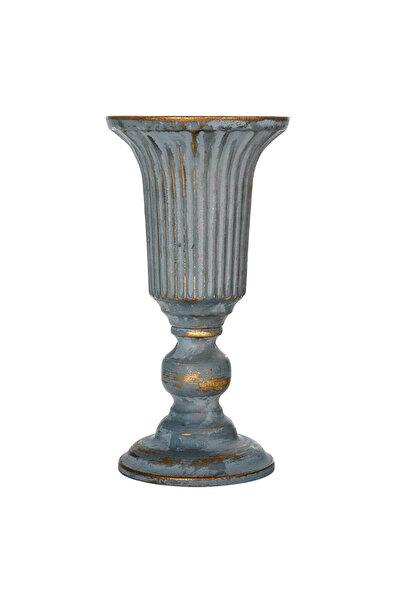 Vitale Sahara Bronz Metal Dekoratif Vazo Küçük Boy AK.ER0071