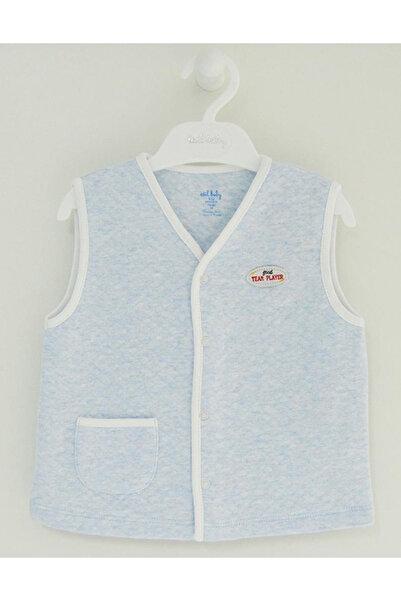 İDİL BABY Çocuk Mavi Yelek 9098