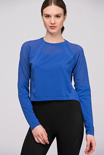 New Balance Kadın T-shirt - WT81124-BUE