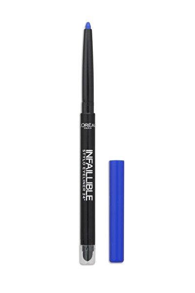 L'Oreal Paris Mavi Eyeliner - Infallible Stylo Eyeliner 24H 314 Forever Blue 3600523163434