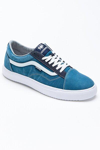 Tonny Black Unısex Mavi Beyaz Spor Ayakkabı Tbgts