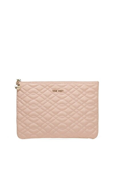 Nine West Sawyer 1fx Pudra Kadın Clutch