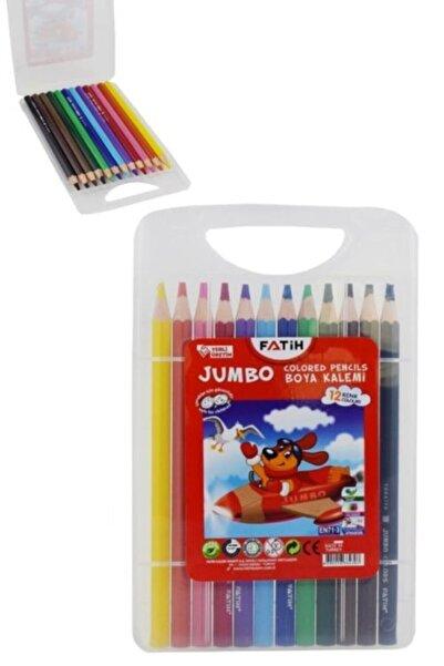 Fatih Jumbo Kuruboya Plastik Çantalı 12'li