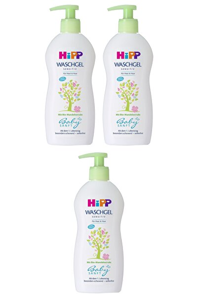 Hipp Bebek Saç ve Vücut Banyo Jeli 400 ml X 3 Adet