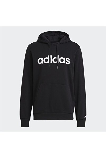 adidas M LIN FT HD Siyah Erkek Sweatshirt 101079852