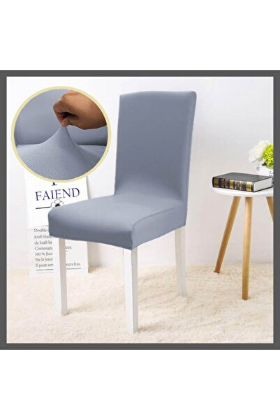 F faiend Balpeteği Desen Likra Kumaşlı Tüylenmez Yikanabilir Sandalye Örtüsü Sandalye Kılıfı Yeni Model Tekli