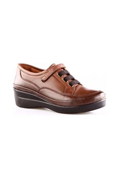 Venüs Kadın Kahverengi Cırtlı  Ayakkabı 1807007