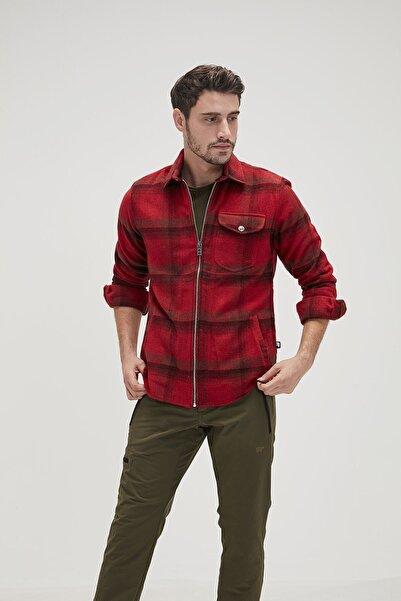 Bad Bear Woodant Shırt Red Gömlek
