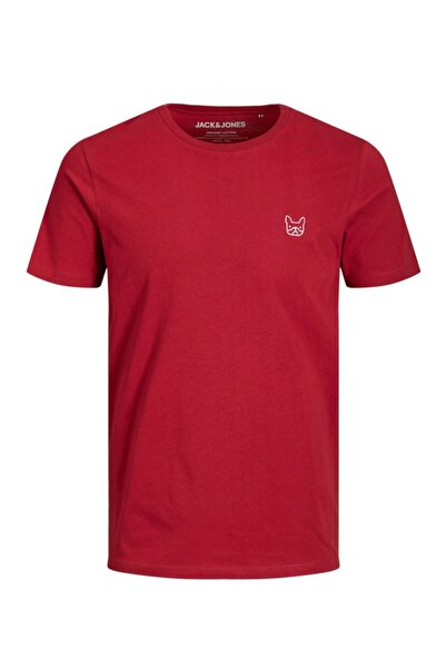 Jack & Jones 12164931 Erkek Jjedenım Logo Tee Ss O-neck Noos Tops T-shirts
