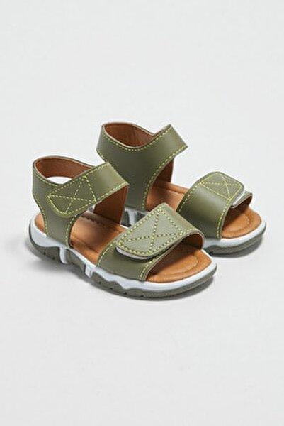 Erkek Bebek Haki Tjc Sandalet