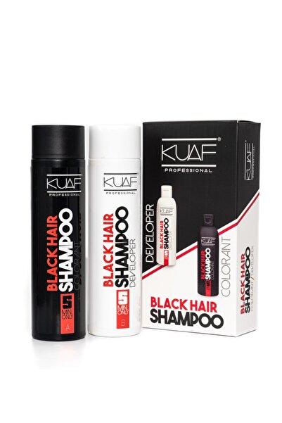 Kuaf Beyaz Saç Kapatıcı Siyah Şampuan - Black Hair Shampoo 250ml 250ml